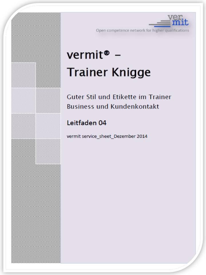 vermit Trainer Knigge